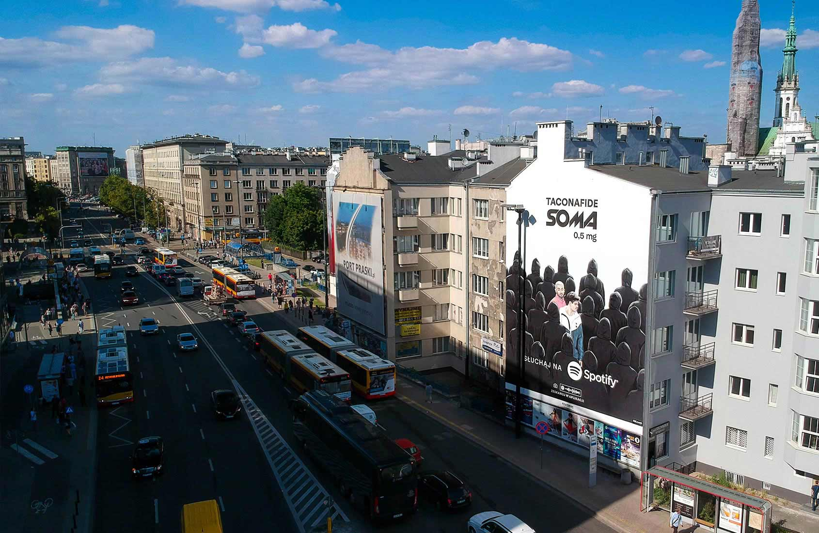 TACONAFIDE mural Politechnika Spotify IDEAMO
