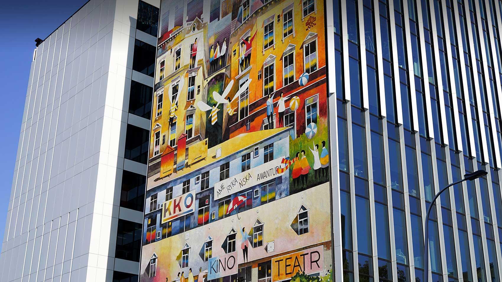 Artystyczne malowanie ścian IDEAMO