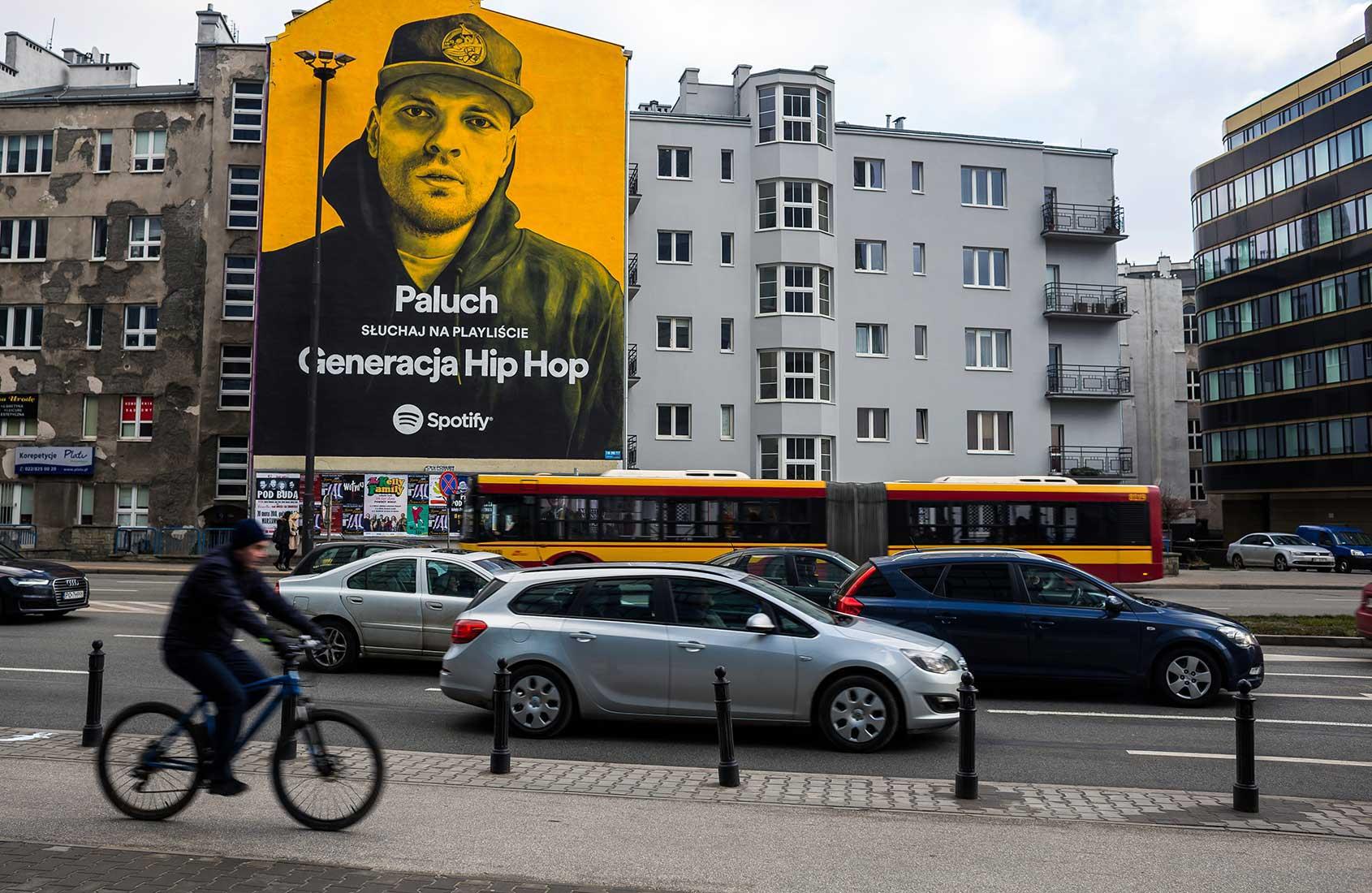 Paluch Politechnika IDEAMO mural