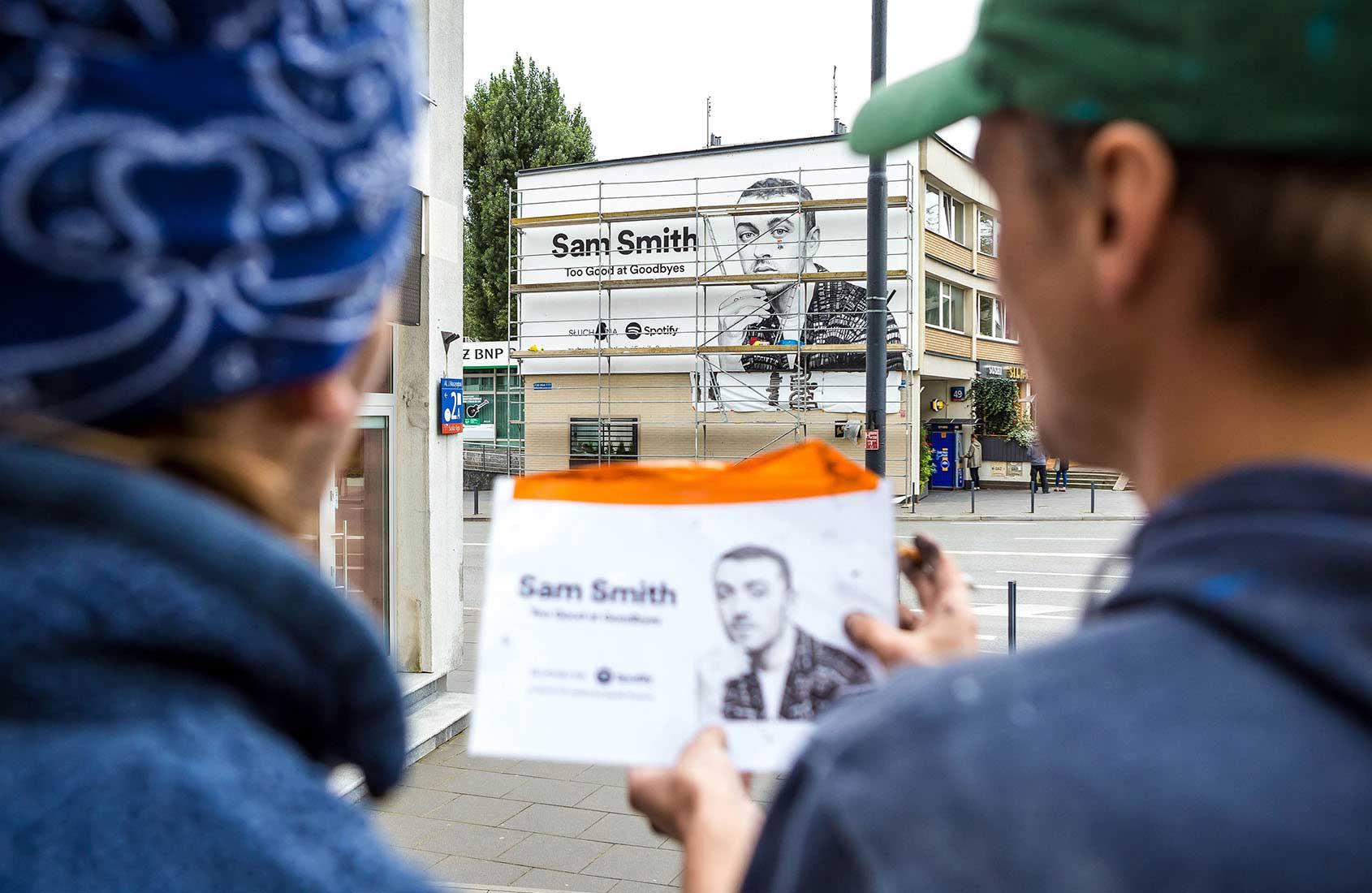SAM SMITH 02 Spotify IDEAMO Francuska PGE Narodowy Mural