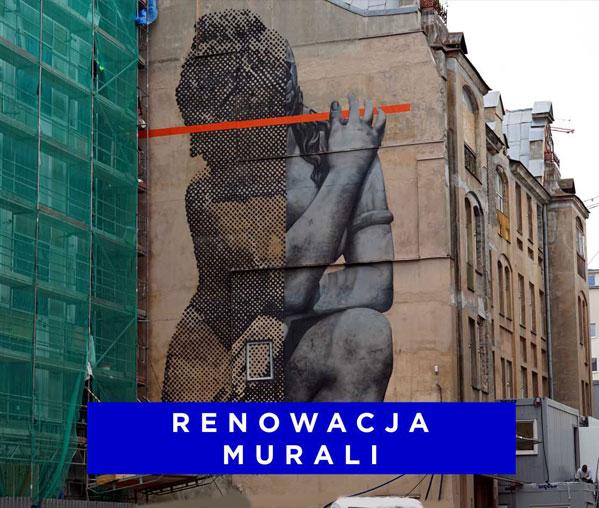 Renowacja murali