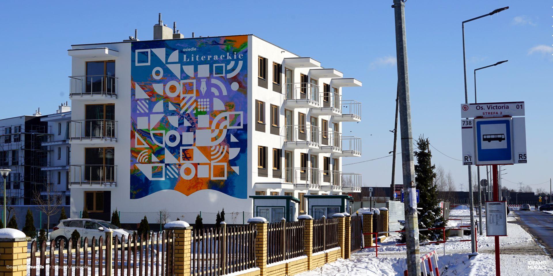 Krolewskie edycja limitowana mural Politechnika IDEAMO
